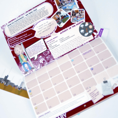 Silk Double Page Calendars - Christmas Printing