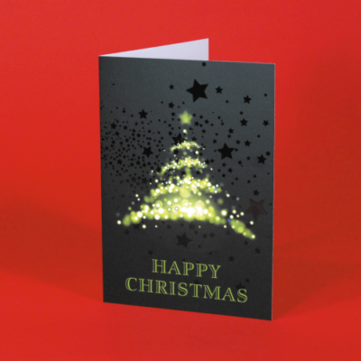 Spot UV Christmas Cards