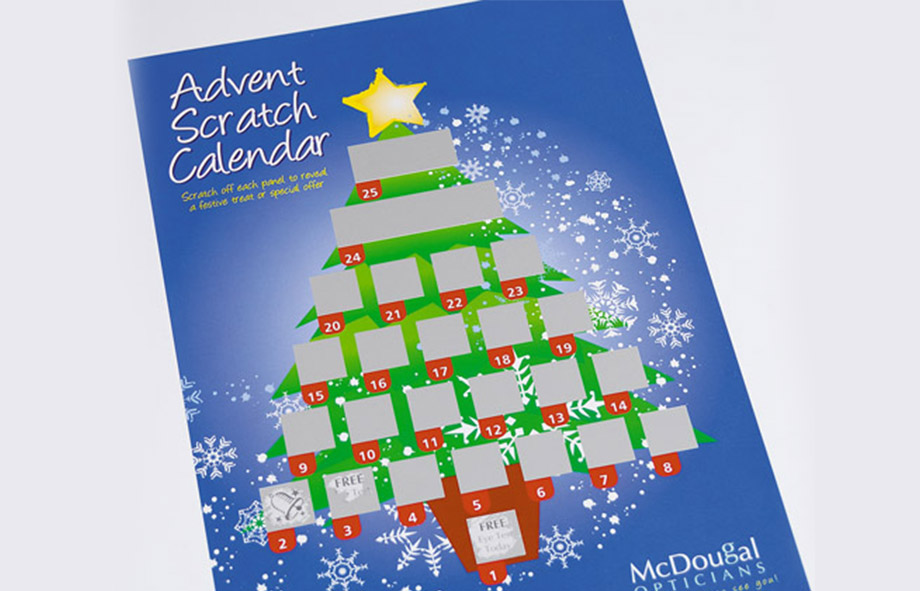 Build Excitement With Christmas Scratch Calendars This Year